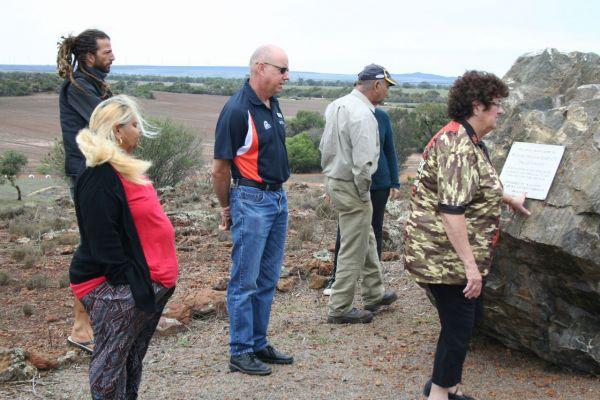 Gunnado farm project planning event with Geraldton Streetwork Aboriginal Corporation.