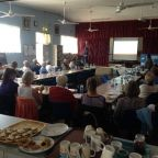 Coastcare groups at the Lancelin Shire (CWA) Hall.
