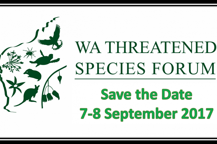 2017 WA Threatened Species Forum