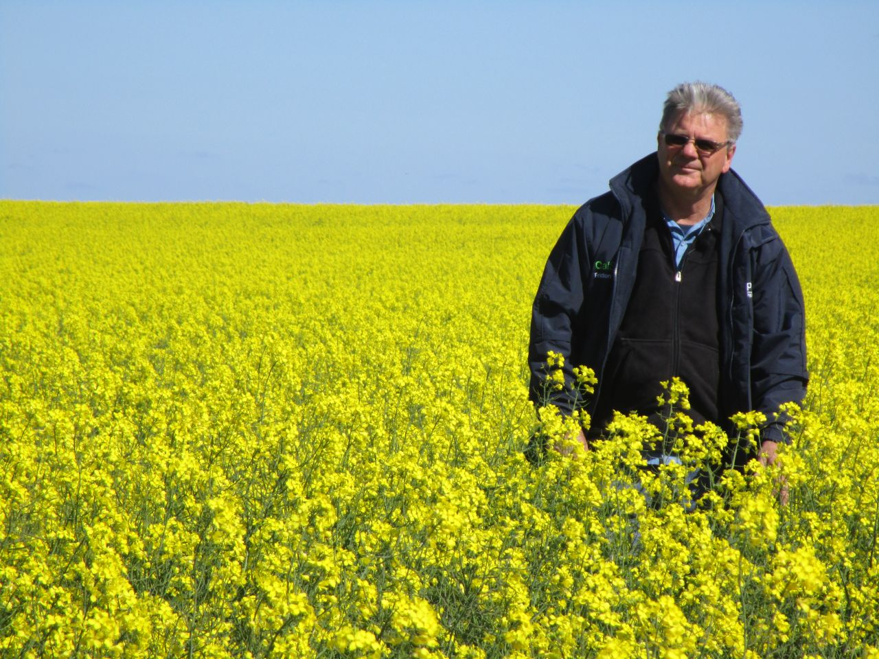 Stuart McAlpine is passionate about farming sustainably in the Northern Agricultural Region.
