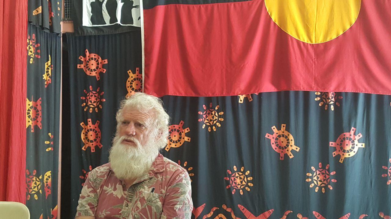 Aboriginal author of 'Dark Emu', Bruce Pascoe.