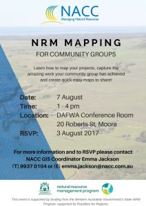 Moora GRID community training flyer