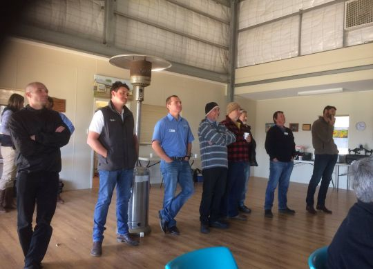Optimism was evident at the Northern Agri Group's popular spring field day last week.