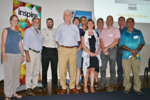 Presenters from the Productive Farming Futures Forum