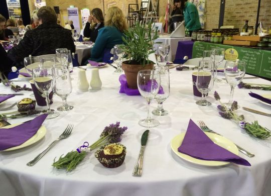 The women, well-being and wine event featured different speakers who focused on the theme, 'from paddock to plate'.