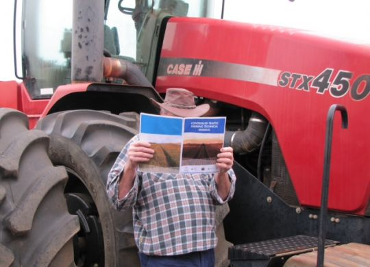 Farmers across Australia are looking to use NACC's Controlled Traffic Technical Manual.