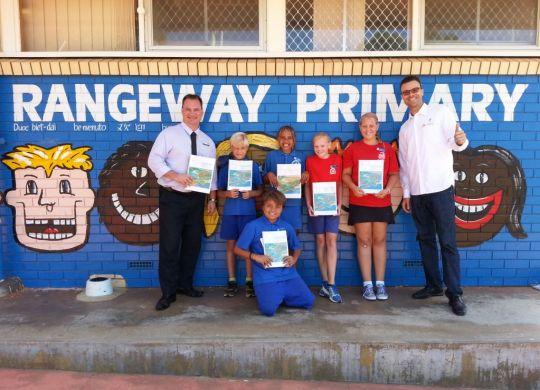 Rangeway Primary School Inland to Ocean promotion 2016