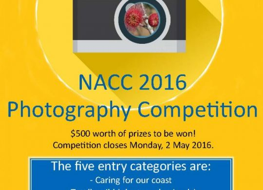 NACC 2016 photo competition flyer