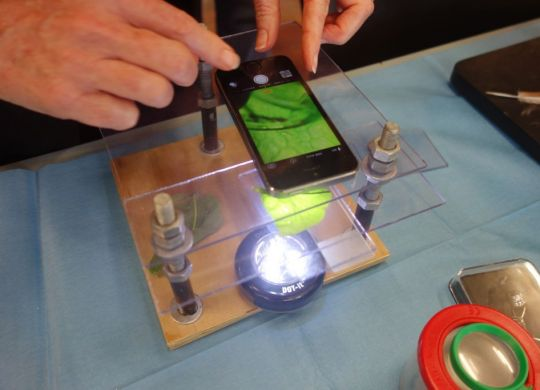 Learning-how-to-use-phone-as-microscope