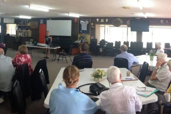 Coastcare groups from NAR south coast at the Regional Coastcare Forum held in Jurien Bay.