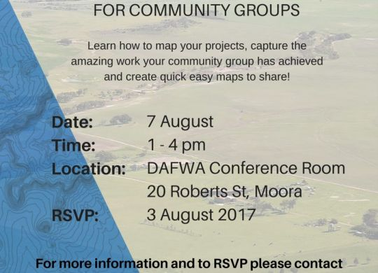 Moora GRID community training flyer