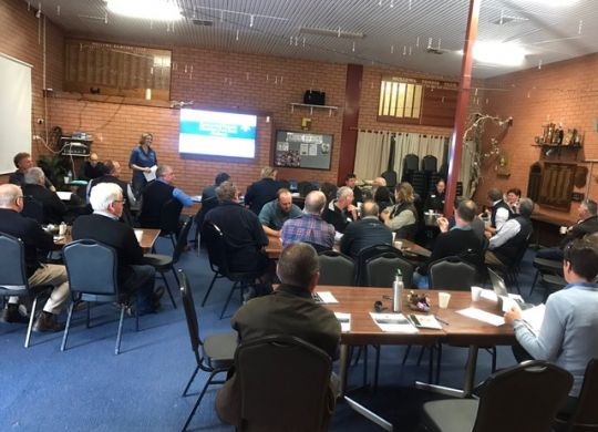 The Grains Research and Development Corporation (GRDC) held its Regional Cropping Solutions Network (RCSN) forum in Mullewa recently.