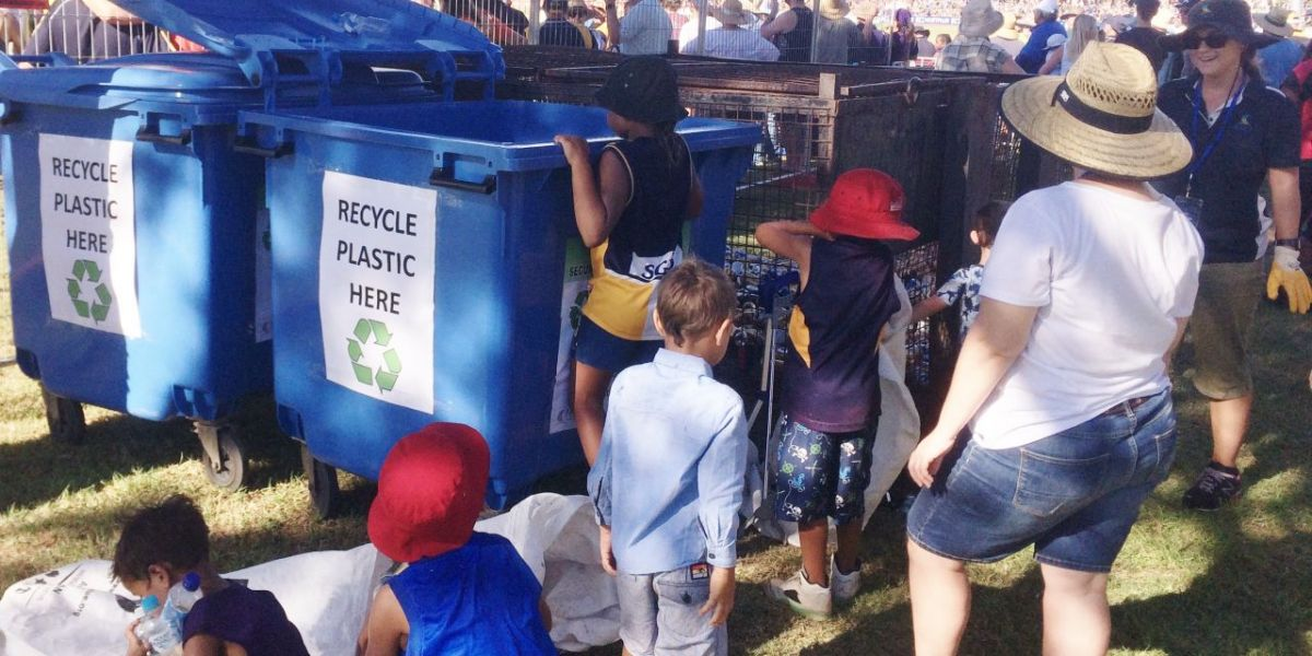 AFL - kids recycling 3