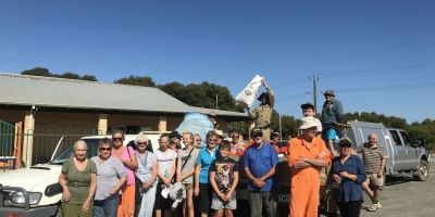 It was another great turn-out and result for this beach clean-up in Green Head.