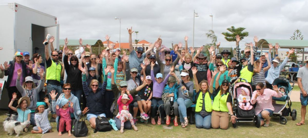 A record turn out for Geraldton's Big Beach Clean up – 307 kg of rubbish was collected, sorted and recorded