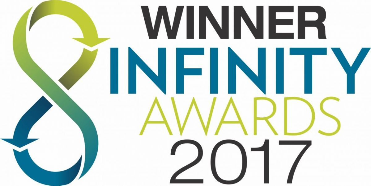 Infinity awards winner Logo