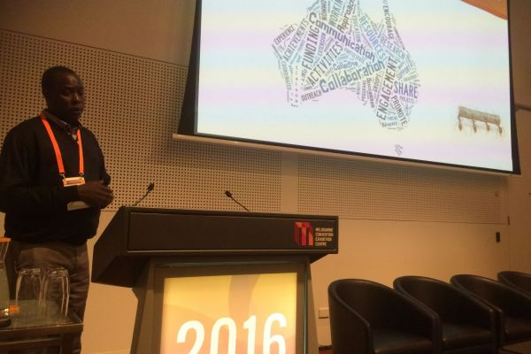 Presentation in national landcare conference in Melbourne