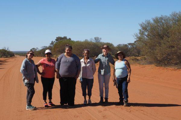 Womens Bush Food excursion 2017