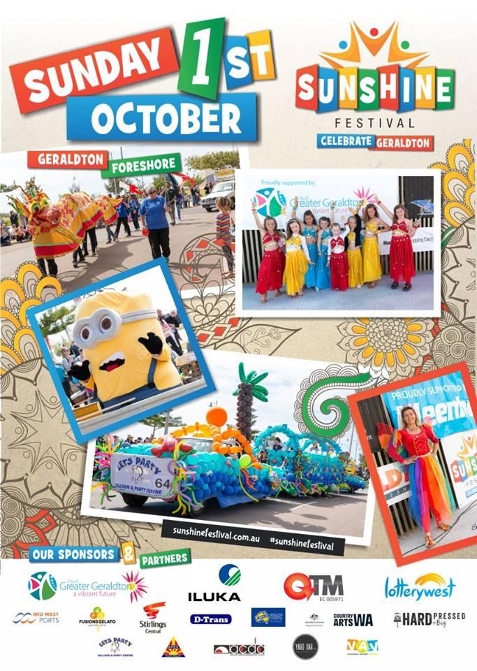 Sunshine Festival flyer