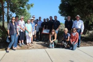 Jurien Bay Men's Shed successful signage project from Round 8 of the Coastal Community Grants Program