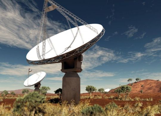 The Murchison Radio-astronomy Observatory (MRO) is located 315km north-east of Geraldton.