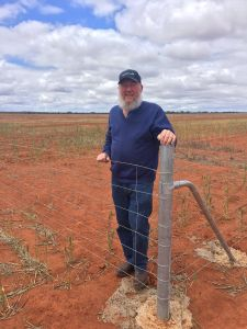 Perenjori farmer Ken Sevenson.