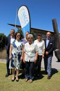 Yvonne with fellow NACC board directors Kent Broad, Miriam Stanborough, Indre Asmussen, Susanne Levett and Rob Keogh.