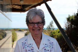 Conservation champion Yvonne Marsden.