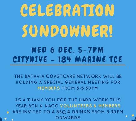 celebration sundowner