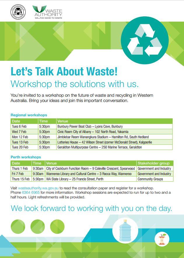 Waste Strategy flyer