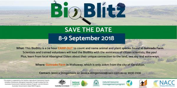 BioBlitz - Save the date