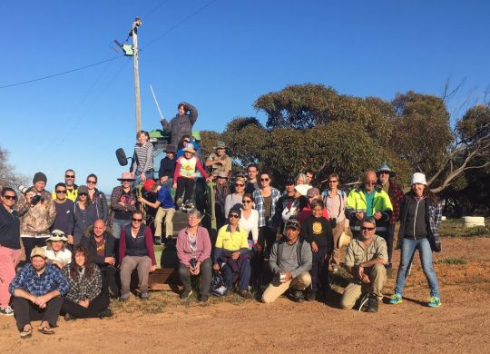 The 2018 Gunnado BioBlitz Team (NACC)