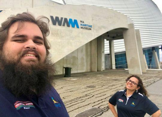 Bianca & Taj WA Maritime Museum